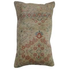 Turkish Lumbar Rug Pillow