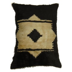 Turkish Mohair Rug Pillow