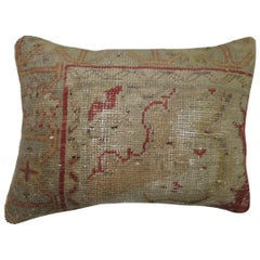 Turkish Oushak Corner Border Pillow