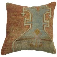 Turkish Oushak Rug Pillow