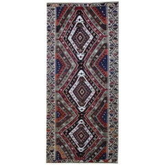 Turkish Runner Kilim Rugs, Antique Rug, Handmade Carpet Oriental Rugs