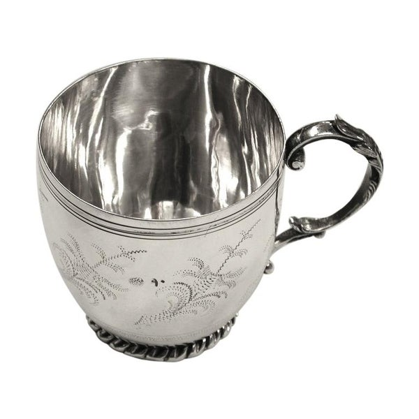 Turkish Silver Mug Dated circa 1900