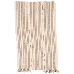 Turkish Striped Plain Weave Blanket