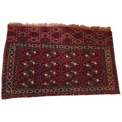 Turkish Tekke Chuval Carpet, 19th Century