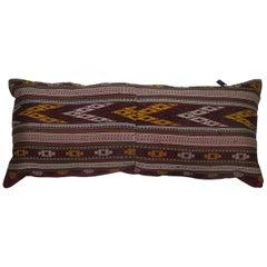 Turkish Texile Bolster Rug Pillow