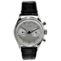Turler Stainless Steel Chronograph Manual Presentation Watch, 1953