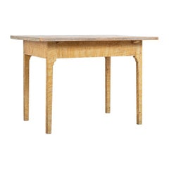 Turn of the Century 1800-1900 Swedish Provincial Gustavian Table