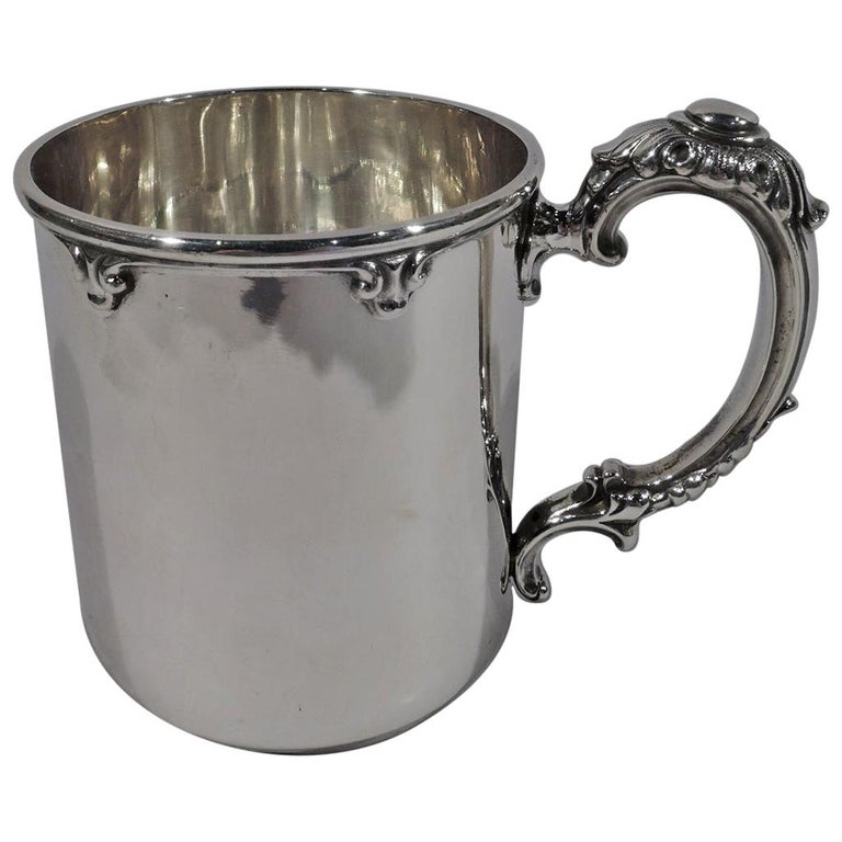 Turn-of-the-Century American Sterling Silver Baby Cup For Sale