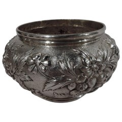 Turn of the Century Baltimore Repousse Sterling Silver Bowl by Kirk