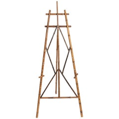 Turn-of-the-Century Bamboo Picture Easel