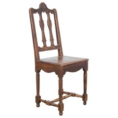 Turn of the Century Belgian Carved Chair