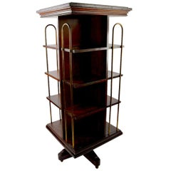 Turn of the Century Revolving Bookcase