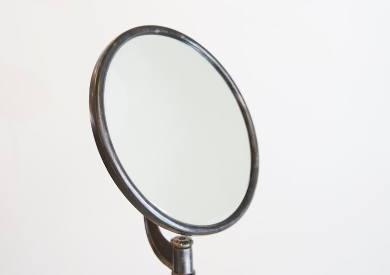 Iron Turn of the Century Shaving Mirror For Sale