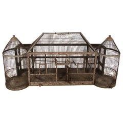 Turn of the Century Turreted Bird Cage