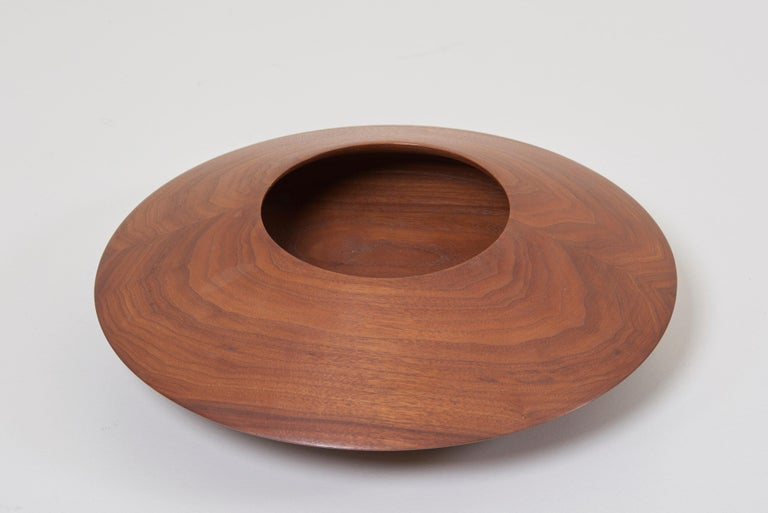 American Craftsman Turned Studio Bowl by Charles M. Kaplan, US, 1960s For Sale