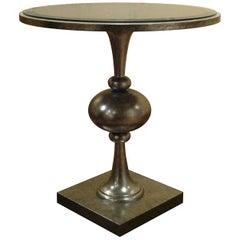 Turned Wood Side Table