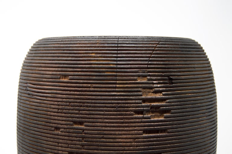 Turned Wood Vase 'Anni L' For Sale 1