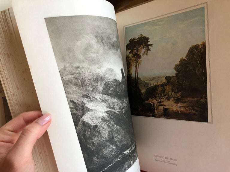 Turner by Camille Mauclair, Color Plates Printed, Photogravure, Paris, 1939 For Sale 6