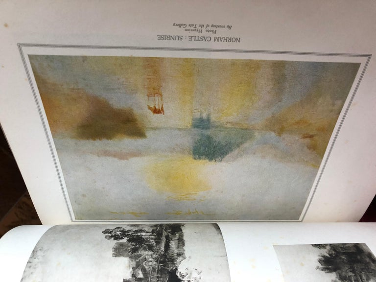 Turner by Camille Mauclair, Color Plates Printed, Photogravure,Paris, 1939 SALE For Sale 5