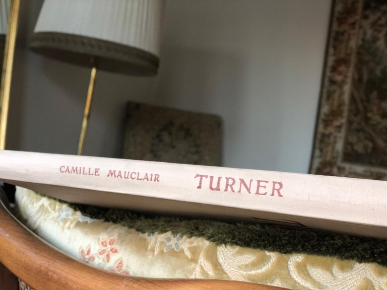 Turner by Camille Mauclair, Color Plates Printed, Photogravure, Paris, 1939 For Sale 9
