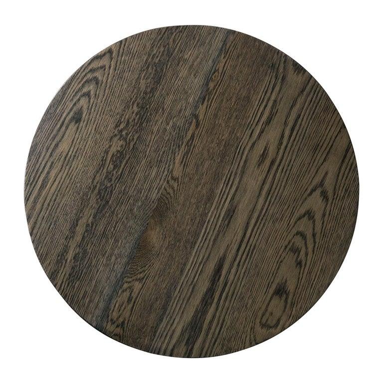 Bronzed Turner Side Table For Sale
