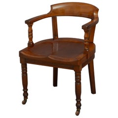 Turner, Son & Walker Late Victorian Desk or Library Chair