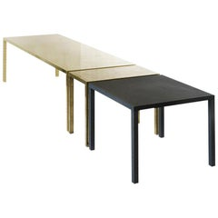Turning into Gold Tables Ensemble of 3, Rooms