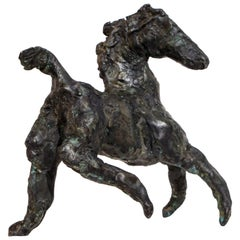 Turning Point Contemporary Bronze Horse