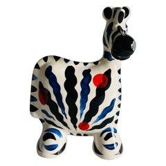 Turov Arts Ceramic Zebra Figure