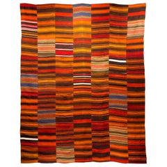 Turquish Colorful Wool Rug