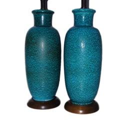 Turquoise Ceramic Lamps