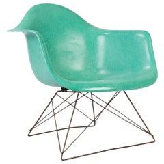 Turquoise Herman Miller Eames LAR Lounge Armchair
