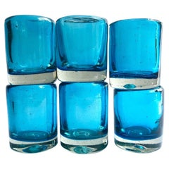 Turquoise Mezcal Shot Glasses