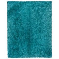Turquoise Shag Rug