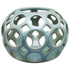 Blue/Green Tabletop Candleholder
