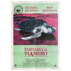 Turtle Diary 1985 Italian Due Fogli Film Poster