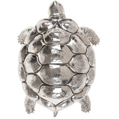 Turtle Sterling Silver Box