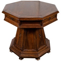 19th c. Tuscan Side Table with Storage