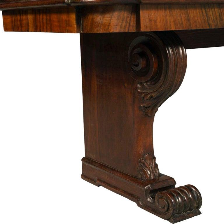 Italian Tuscany Antique Carved Walnut Inlaid Entry Palladian Bench Bonciani Cascina For Sale