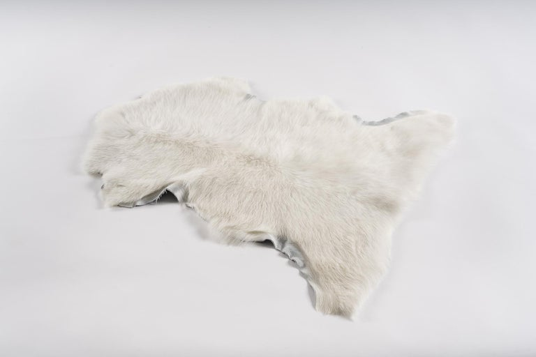 Contemporary Tuscany Lambskin Fur Throw For Sale