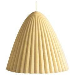 Tusk Candle, Small, Natural Beeswax