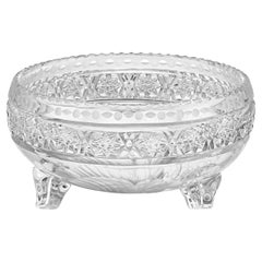 Tuthill Vintage Pattern Footed Bowl