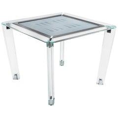 Tuttuno Backgammon, Contemporary Design Game Table by Impatia