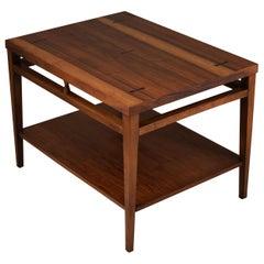 Tuxedo Dovetail Table by Lane