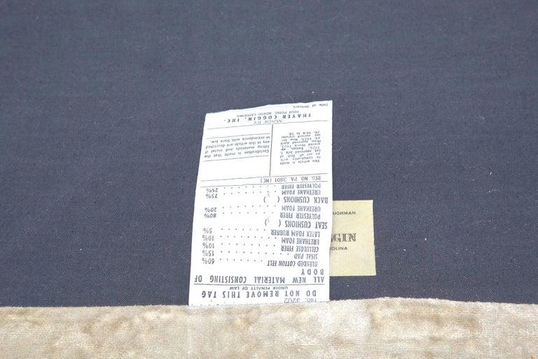 American Tuxedo Sofa by Milo Baughman for Thayer Coggin For Sale