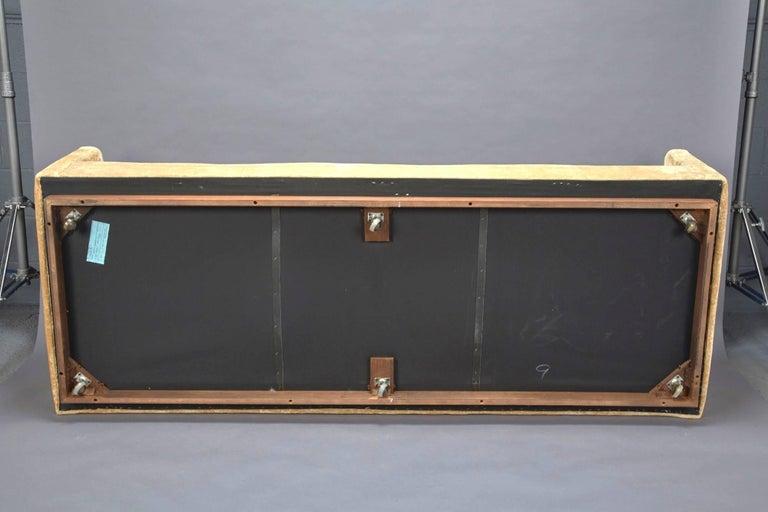 Mid-20th Century Tuxedo Sofa by Milo Baughman for Thayer Coggin For Sale