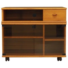 TV Cabinet Teak Vintage Danish Design, 1970s
