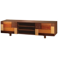 TV Stand Form in Wood
