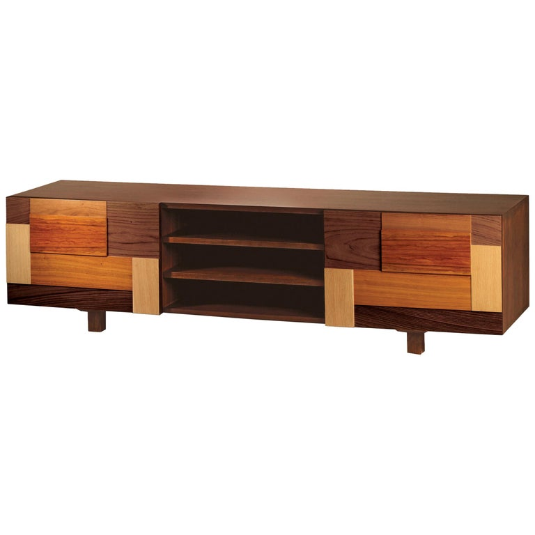 TV Stand Form in Wood 1