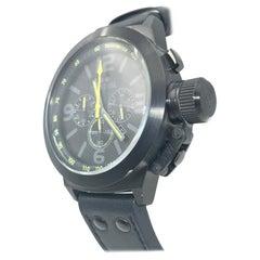 TW Steel Chronograph Stainless Steel Black Dial Quartz Men's Watch TW900